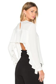 A.L.C. Sally Top in Eggshell