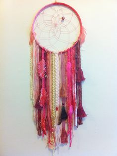 Pink #Ombre #DreamCatcher by Rachael Rice