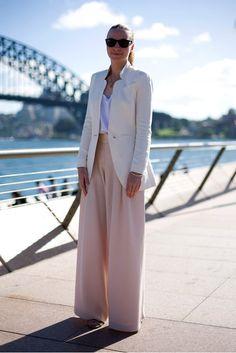 Fotos de looks para inspiração para quem quer usar rosa clarinho com estilo! Fotos: Reprodução