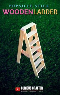 Despair In Youngsters - Realize To Get Rid Of It Wholly Garden Diy Furniture Popsicle Sticks 37 Super Ideas Popsicle Stick Houses, Diy Popsicle Stick Crafts, Sticks Furniture, Diy Garden Furniture, Diy Dollhouse Furniture Easy, Furniture Projects, Art Projects, Wood Sticks, Barbie Furniture