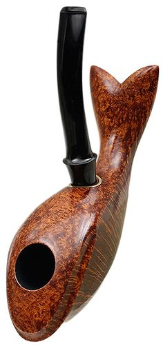 Peter Heding Tobacco Pipes: Smooth Whale (Diamond)