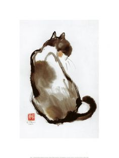 Cat's Back - Art Print