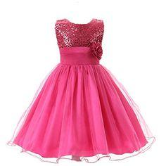 Rosa kleid lang madchen