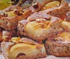 Rezept Blitz-Birnen-Walnuss-Kuchen von Damapali - Rezept der Kategorie Backen süß