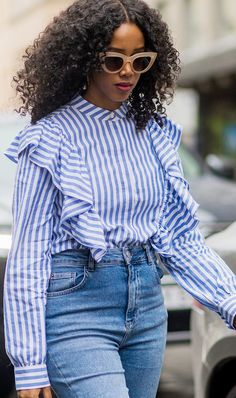 Ruffled blouses are not only on trend, but they're also affordable, thanks to the Who What Wear collection for Target.