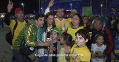 G1 confere o hino nacional na voz da torcida do Parque Olímpico
