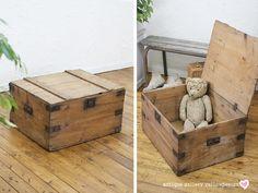 Pine Wood イギリスアンティークオールドパインボックス木箱収納6233 インテリア 雑貨 家具 Antique ¥24000yen 〆05月28日