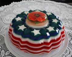 I'm not a fan of Jello, but these intricate cakes sure make me want to eat it Gelatin Recipes, Jello Recipes, Pureed Food Recipes, Jello Desserts, Mousse, 3d Jelly Cake, Cupcakes, Number Cakes, Cake Art