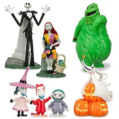 The Nightmare Before Christmas Figure Play Set -- 7-Pc.