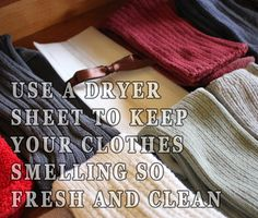 ‪#‎TravelTips‬: Place a dryer sheet at the bottom of your suitcase to keep your clothes smelling fresh and clean during ‪#‎travel‬.