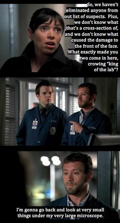 """""""king of the lab"""" lol also the man in the mud season 3 Best Tv Shows, Best Shows Ever, Favorite Tv Shows, Movies And Tv Shows, Bones Tv Series, Bones Tv Show, Dr Bones, Booth And Bones, Booth And Brennan"""