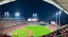 Reds Game, Baseball Field, Basketball Court, Sports, Hs Sports, Sport
