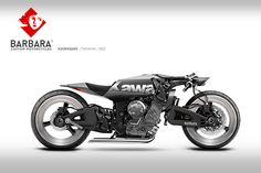 Barbara Custom Motorcycles - Photoshop Preparations - RocketGarage - Cafe Racer Magazine