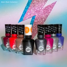 Our brand new Glam Rock collection from Miracle Gel is taking the stage just in time for the holidays. Wrap this 2-step gel manicure up for your friends and gift them 14 days of color and shine!