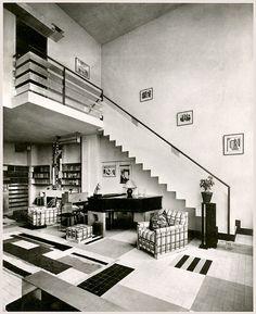 #ArtDecoArchitecture Robert Mallet-Stevens. Paris, c1925.