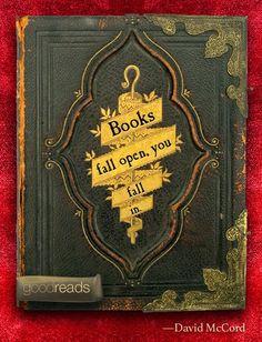 """Manta de Histórias: """"Books fall open, you fall in."""" — David McCord. Muitas felicidades  e sucessos no Ano 2015"""