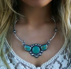 It Dwells in Greenery Turquoise and Chalcedony by MercuryOrchid