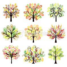 Paisley trees