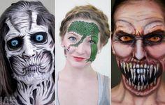 As maquiagens hiper-realistas de Elsa Rhae
