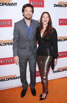 Jason Bateman brought his wife, Amanda Anka, on the orange carpet @ Arrested Development's season 4 premiere.
