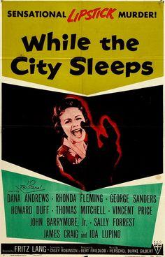 While the City Sleeps (1956)  ****