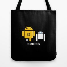 Perfect Star Wars Day purchase: Droids swag, like this tote bag. Visit the Cracked Dispensary to see all the products with this design.