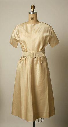 1958 Ivory Wedding Dress by House of Balenciaga, French.