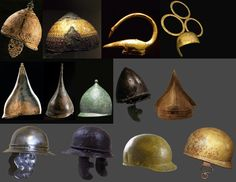 Celtic Helmets.