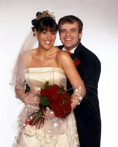 coronation street wedding' simon gregson & suranne jones (s)