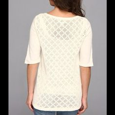 Lucky brand crochet top Lucky brand crochet top Lucky Brand Tops