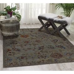 Shop for Nourison Timeless Taupe Rug (7'9 x 9'9). Get free shipping at…