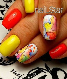 50 elegant fall nail art designs that will beautify your look page 44 Thanksgiving Nail Designs, Thanksgiving Nails, Nail Art Designs Videos, Fall Nail Art Designs, Trendy Nail Art, Stylish Nails, Sculpted Gel Nails, Halloween Acrylic Nails, The Art Of Nails