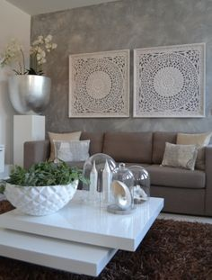 These living room decor ideas become the trendiest look to create a beautiful decoration which everyone will love! Pick one for your own living room now! Living Room Designs, Living Room Decor, Living Rooms, Dining Room Wall Art, Decor Room, Interior Decorating, Interior Design, Interior Modern, Room Interior