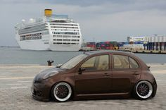 Nissan Micra K12 Tuning Modified