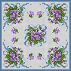 Violets & Ribbons