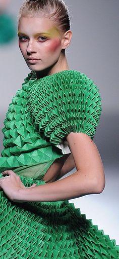 Cactus Print, Shades Of Green