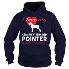 I love my German Wirehaired Pointer