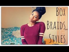 Superb Box Braids Styles Ro Edition Youtube Hair Styles Pinterest Hairstyles For Women Draintrainus
