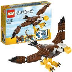 LEGO 31004 Creator: Adler  http://www.meinspielzeug24.de/lego-31004-creator-adler  #Junge, #LEGOCreator #Konstruktionspielzeug, #Spielwaren