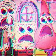 LSD Spongebob trippy spongebob instagram instagram pictures instagram graphics instagram quotes lsd