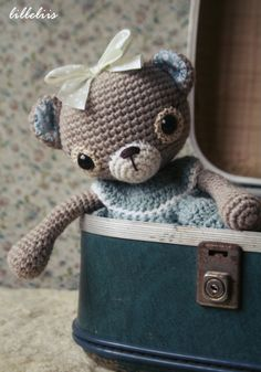 Doris the woollen teddy bear
