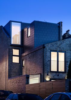 Mulroy Architects extends house with angled skylights and glass passage