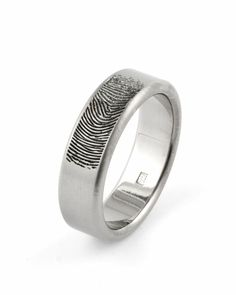 Fingerprint engraving - www.stonechatjewellers.ie