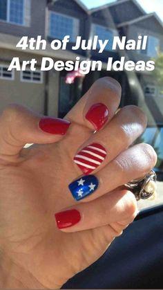 Cute Gel Nails, Gel Nail Art, Nail Polish, Nail Nail, Red Nail Designs, Acrylic Nail Designs, Acrylic Nails, Toe Designs, Blue Nails