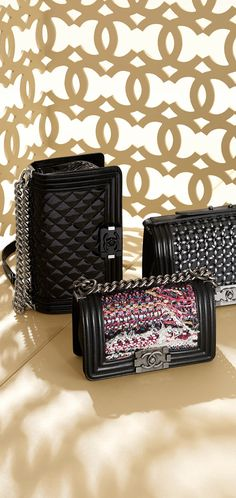 Chanel - boy bolsos - moda - complementos bag - fashion - accessories http://yourbagyourlife.com/ Love Your Bag.