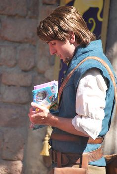 Flynn Rider at Disney