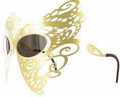 Karavan's Butterfly Eyewear and the Venezia Mask Collection//Facesunglasses