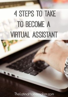 Being a virtual assistant is a great way to earn income while having the flexibility to work from home. Take these 4 steps to get started today!