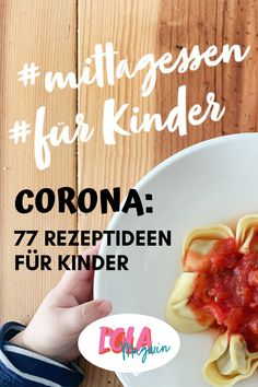 Kochen für Kindern: 77 Rezeptideen We have 77 recipe ideas on our side so that no one runs out of ideas for eating during the corona crisis for children. Lunch Recipes, Baby Food Recipes, Dinner Recipes, Cooking Recipes, Kids Meals, Easy Meals, Ketogenic Diet Food List, Food Videos, Food And Drink