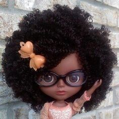 Natural Hair Dolls I love these - this one should be named Jennifer for sure!